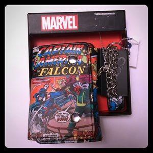 Marvel captain America wallet